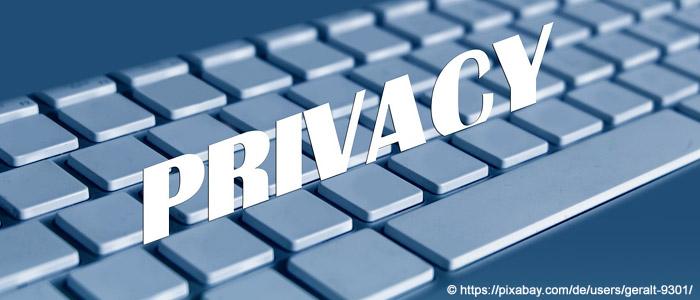 Kontaktformular muss in die Datenschutzerklärung