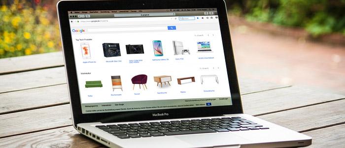 google shopping produktdaten